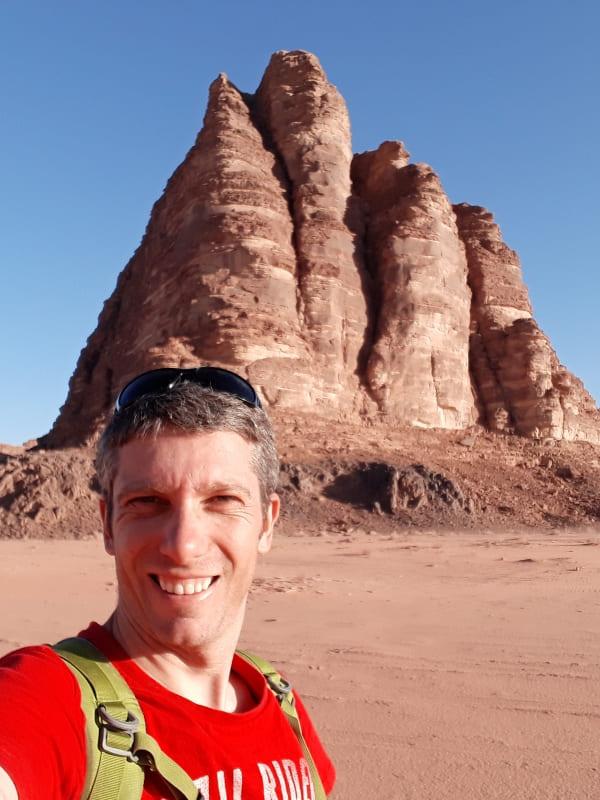 Ruta en Wadi Rum