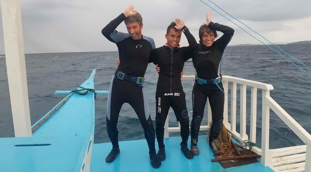 buceo tiburón zorro